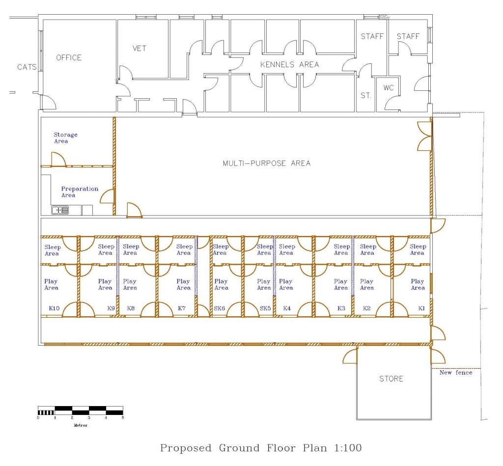 BPR Kennels clear layout plan-page-001